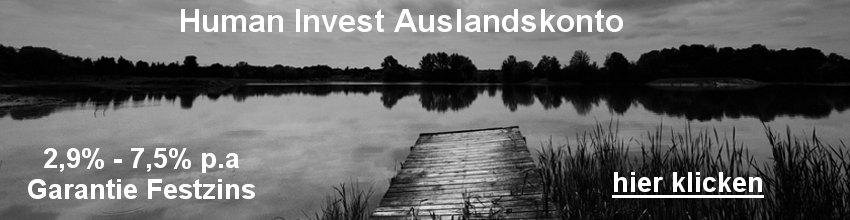 Human Invest Auslandskono